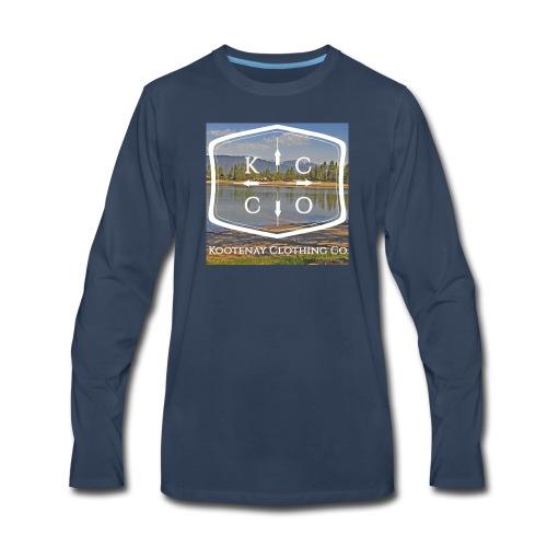 Kootenay Clothing Co Logo Wear - Men's Premium Long Sleeve T-Shirt