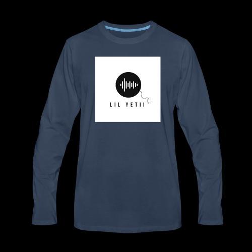 lil Yetii - Men's Premium Long Sleeve T-Shirt