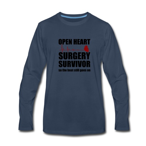 openheart surgery - Men's Premium Long Sleeve T-Shirt
