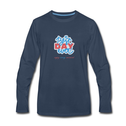 New Front Shirt - Men's Premium Long Sleeve T-Shirt