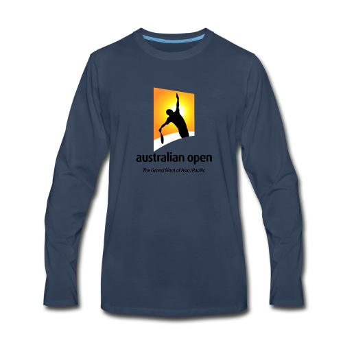 AUSTRALIA OPEN LOGO 2 - Men's Premium Long Sleeve T-Shirt