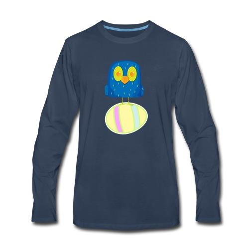 Hatching Easter Eggs, Hatching Plan, Funny Easter - Men's Premium Long Sleeve T-Shirt
