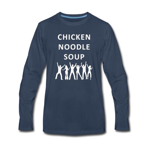 chicken noodle soup2 - Men's Premium Long Sleeve T-Shirt
