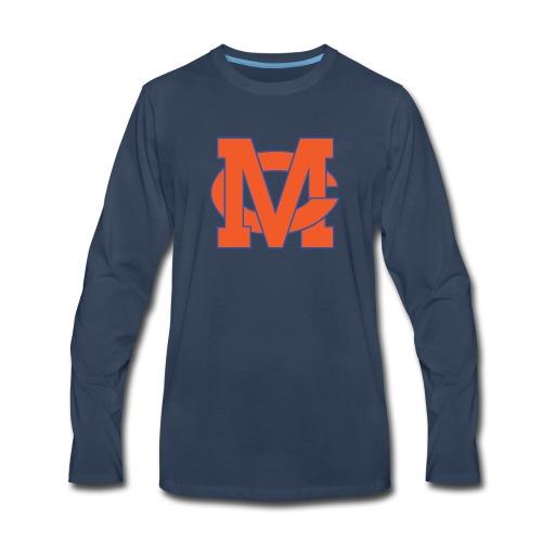 interlocking MC vector - Men's Premium Long Sleeve T-Shirt