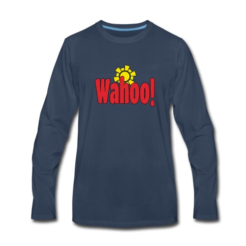 Wahoo! - Men's Premium Long Sleeve T-Shirt