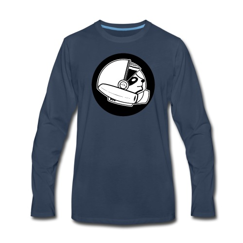 Space Sloth Logo - Men's Premium Long Sleeve T-Shirt
