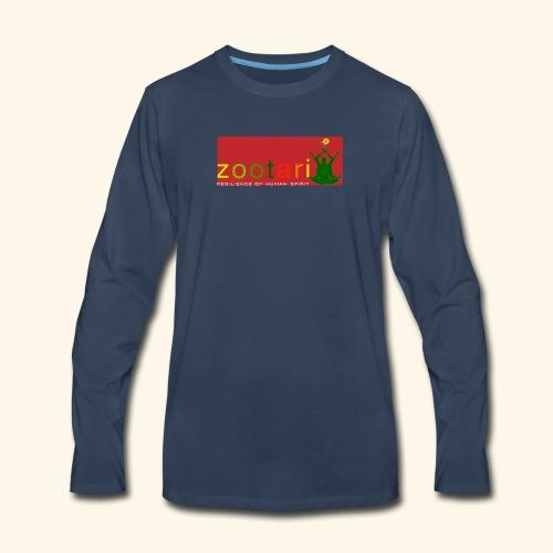 zootari brand - Men's Premium Long Sleeve T-Shirt