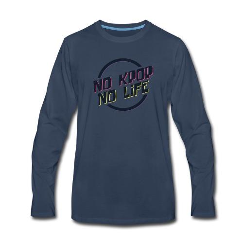 No KPOP No Life - Men's Premium Long Sleeve T-Shirt