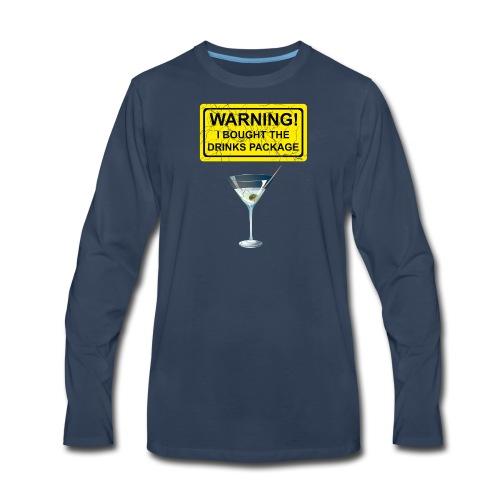 Drinks package shirt - Men's Premium Long Sleeve T-Shirt
