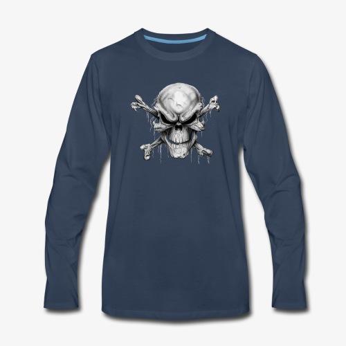 Skull And Crossbones - Men's Premium Long Sleeve T-Shirt