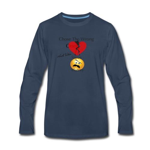 The Wrong One - Men's Premium Long Sleeve T-Shirt