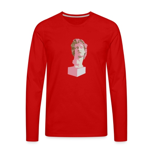 vaporwave 420 - Men's Premium Long Sleeve T-Shirt