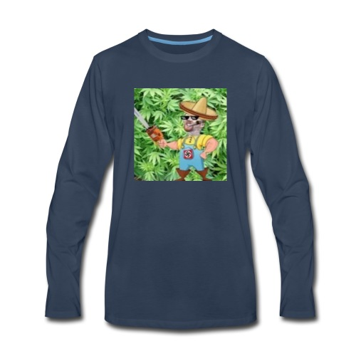 momothefarming - Men's Premium Long Sleeve T-Shirt