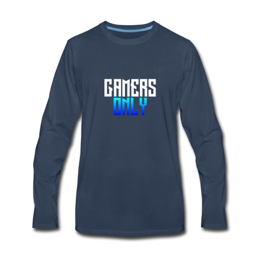 Gamers only - Men's Premium Long Sleeve T-Shirt