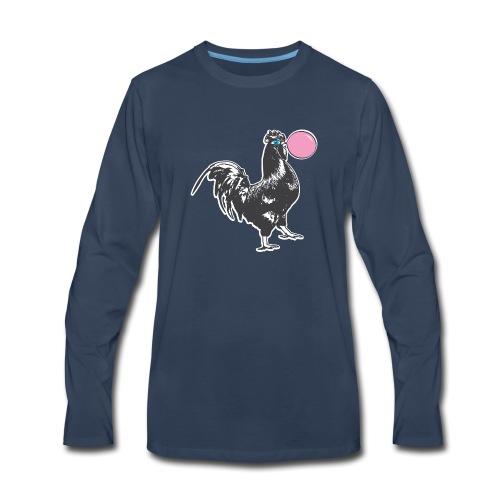 Chicken Chews Bubble Gum - Men's Premium Long Sleeve T-Shirt