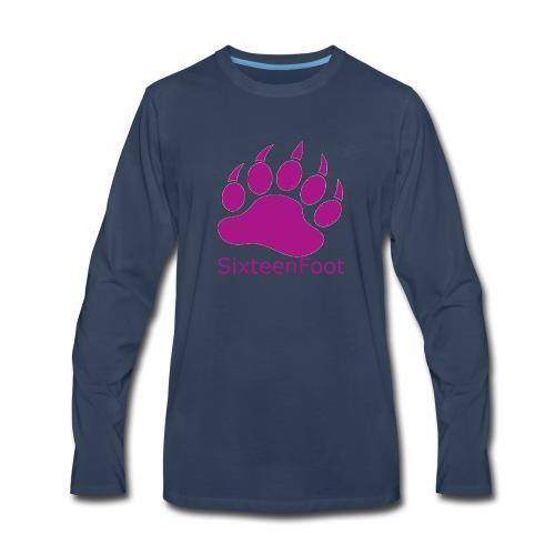 Purple_Logo - Men's Premium Long Sleeve T-Shirt