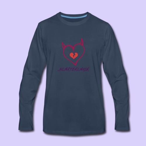 Heart Breaker - Men's Premium Long Sleeve T-Shirt