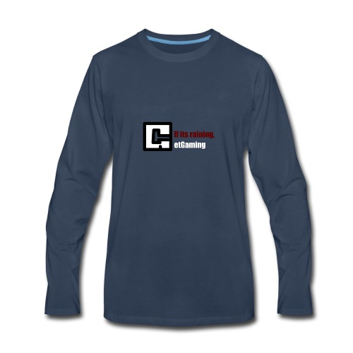 GetGaming or its Raining - Men's Premium Long Sleeve T-Shirt