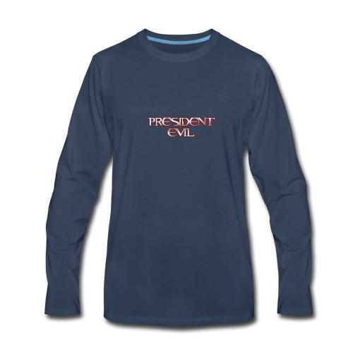 President-Evil-Bestseller - Men's Premium Long Sleeve T-Shirt