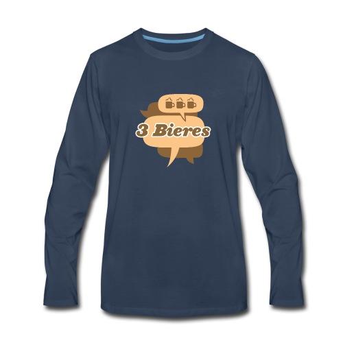Blanc - Men's Premium Long Sleeve T-Shirt