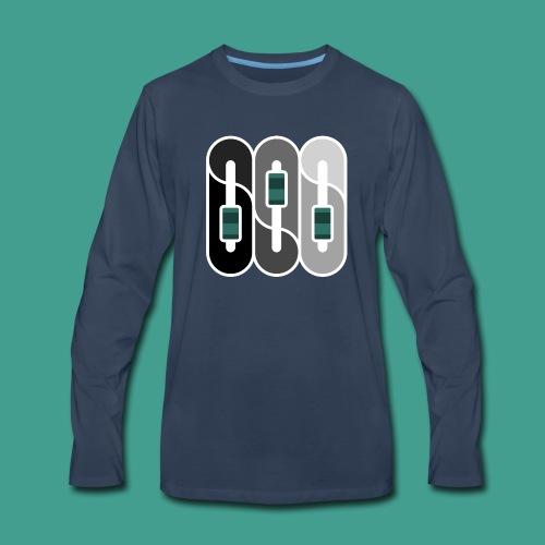 Silverman Sound Studios Logo - Men's Premium Long Sleeve T-Shirt