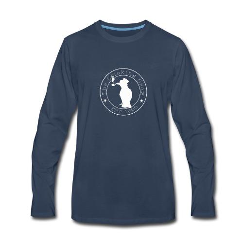Albino Crow Logo - Men's Premium Long Sleeve T-Shirt