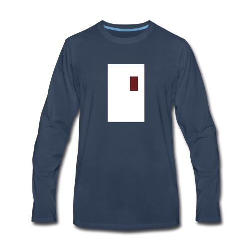 meta - Men's Premium Long Sleeve T-Shirt