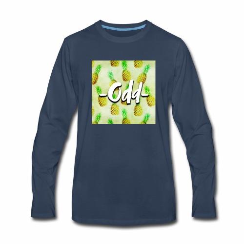 Odd Pineapple - Men's Premium Long Sleeve T-Shirt