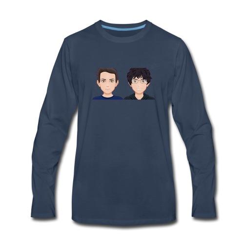 Sun-Both - Men's Premium Long Sleeve T-Shirt