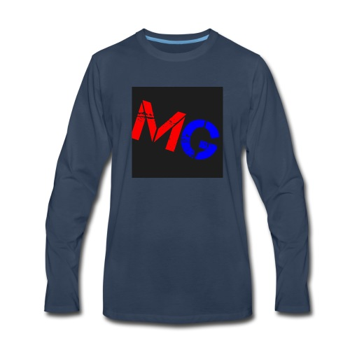Mobile Gamer - Men's Premium Long Sleeve T-Shirt