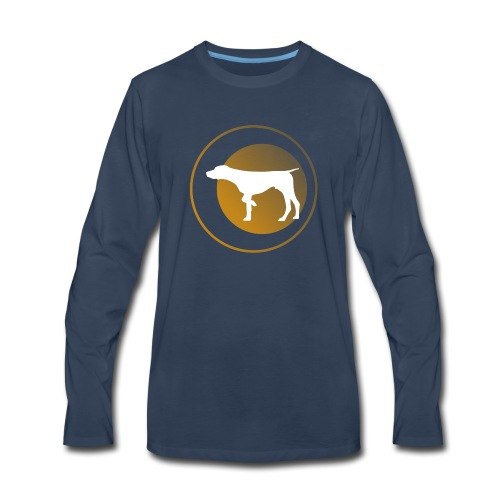 German Shorthaired Pointer - Men's Premium Long Sleeve T-Shirt