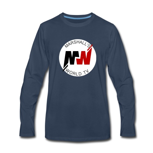 Marshalls World Tv - Men's Premium Long Sleeve T-Shirt