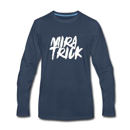 Mira Trick Logo - Men's Premium Long Sleeve T-Shirt