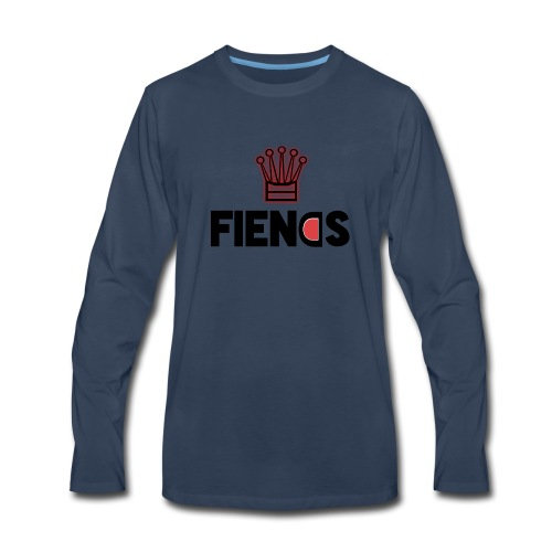 Fiends Design - Men's Premium Long Sleeve T-Shirt
