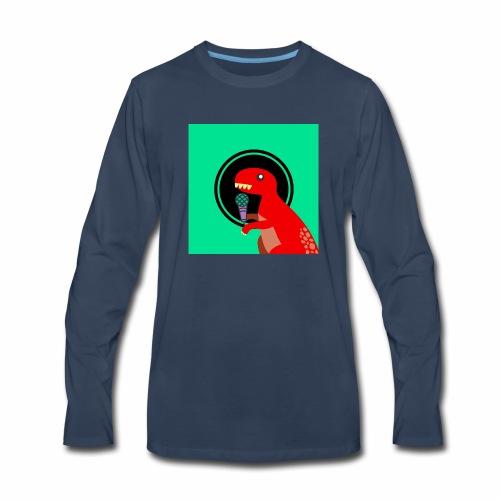 YouTube Logo 1 Merch! - Men's Premium Long Sleeve T-Shirt