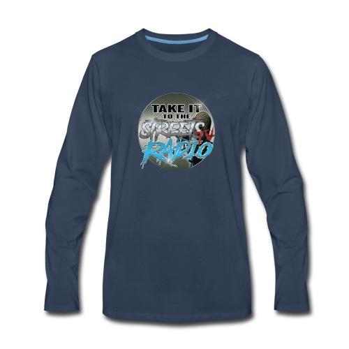 Takeit tothe streets cirlce logo - Men's Premium Long Sleeve T-Shirt