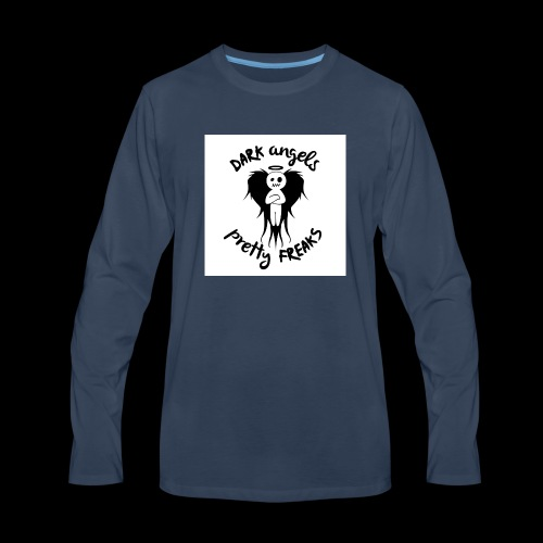 Dark Angels & Pretty Freaks - Men's Premium Long Sleeve T-Shirt