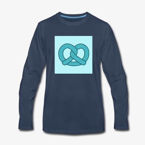 Pretzel Octobre party oktoberfest - Men's Premium Long Sleeve T-Shirt