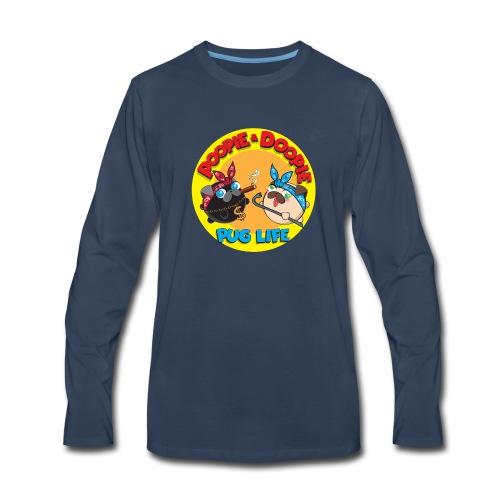 pug life pnd full - Men's Premium Long Sleeve T-Shirt