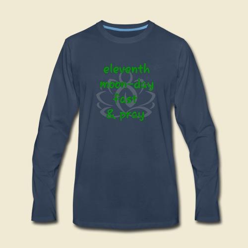 108-lSa Inspi-Shirt-98 eleventh moon day - Men's Premium Long Sleeve T-Shirt