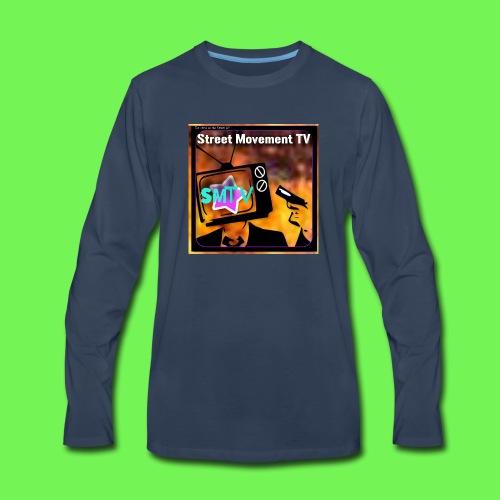 Street Movement TV 2 - Men's Premium Long Sleeve T-Shirt