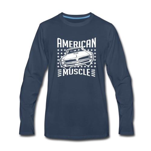 Pontiac GTO American Muscle - Men's Premium Long Sleeve T-Shirt
