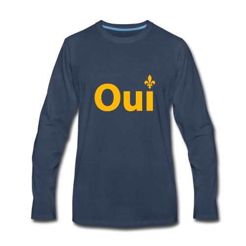 OUI Québec - Men's Premium Long Sleeve T-Shirt
