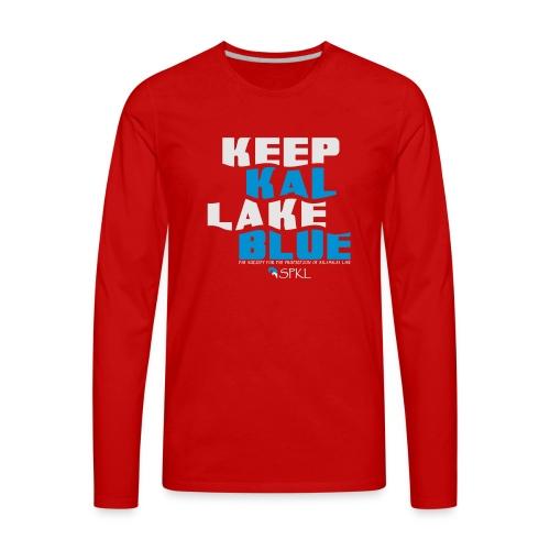 Keep Kal Lake Blue, Navy Women's Hoodie - Men's Premium Long Sleeve T-Shirt