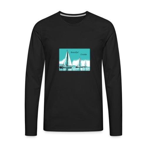 Beautiful Croatia - Men's Premium Long Sleeve T-Shirt
