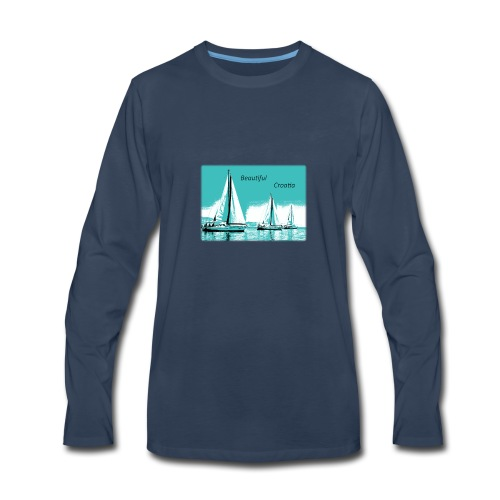 Beautiful Croatia - Men's Premium Long Sleeve T-Shirt