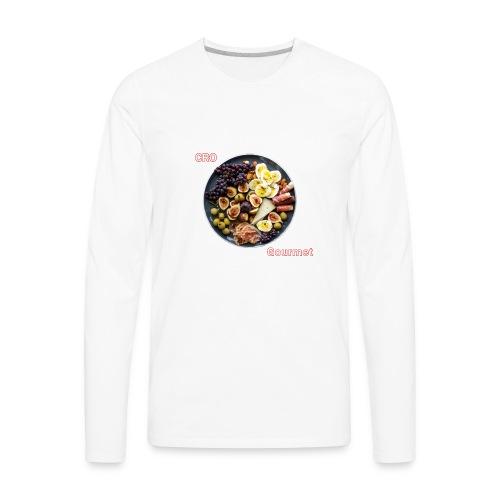 Croatian Gourmet - Men's Premium Long Sleeve T-Shirt