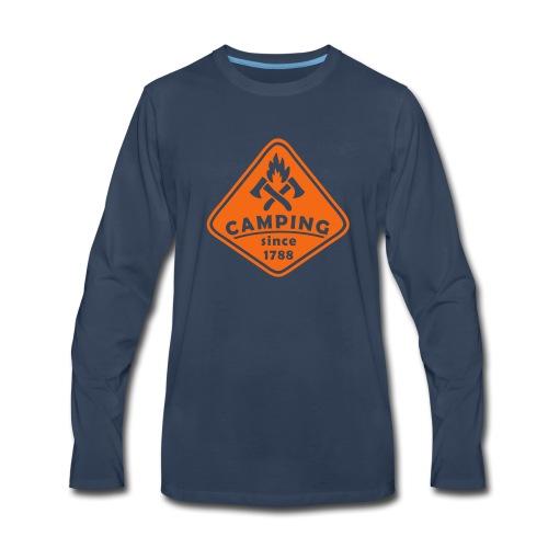 Campfire - Men's Premium Long Sleeve T-Shirt