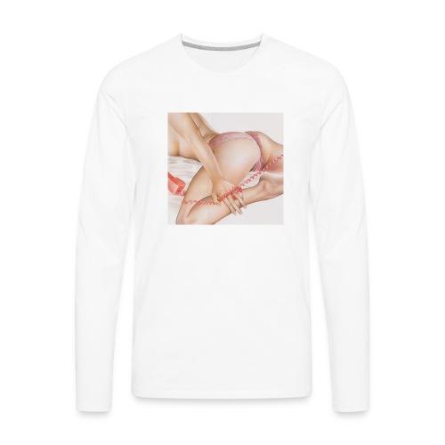 On da phone - Men's Premium Long Sleeve T-Shirt