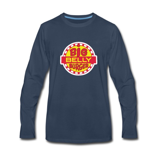 Big Belly Burger - Men's Premium Long Sleeve T-Shirt
